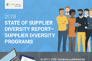 2018 Infographic Supplier Diversity Programs