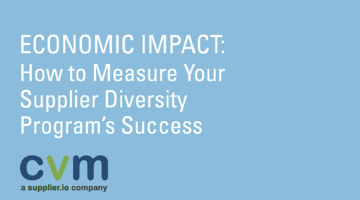 How to measure your supplier diversity program