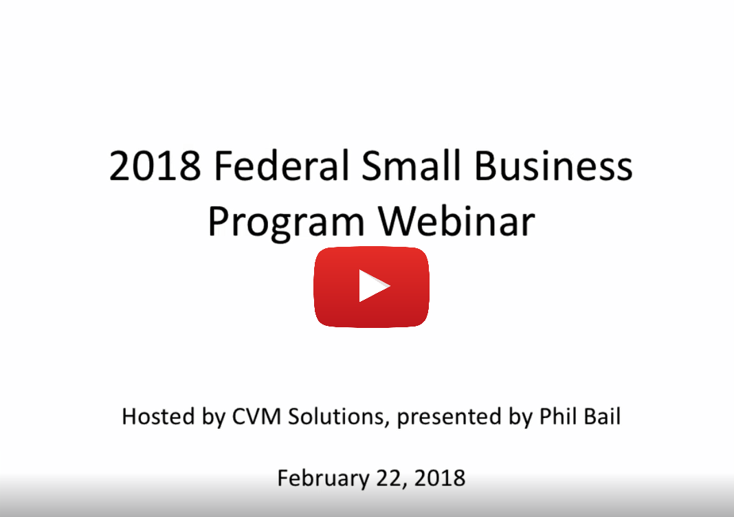 Federal Contracting Video